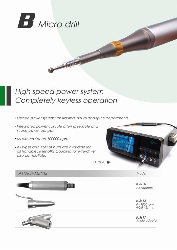 Herramienta eléctrica quirúrgica BJ3700
